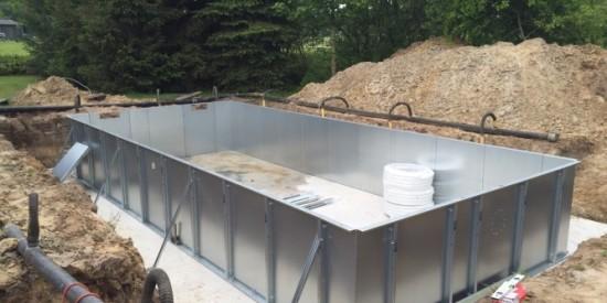 Zwembad aanleggen waar moet u aan denken aqua zwembaden for Ondervloer zwembad